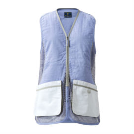 Beretta Womens Silver Pigeon Vest Lilac White