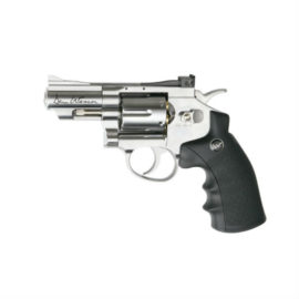 Dan Wesson 2 Silver 177 BB Pellet CO2 Air Pistol