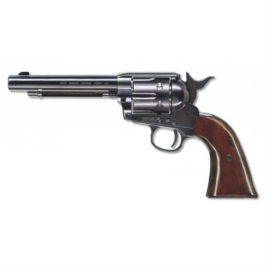 Colt Peacemaker CO2 BB Pistol Revolver Black Wood