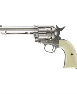 Umarex Colt SAA 45 Peacmaker .177 BB CO2 Revolver Pistol - Nickel