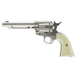 Colt Peacemaker CO2 BB Pistol Revolver Silver