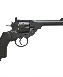 Webley MKVI Service Revolver CO2 .177 BB - Black