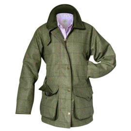Hoggs of Fife Caledonia Ladies Tweed Shooting Coat