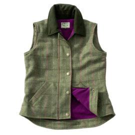 Hoggs of Fife Caledonia Ladies Tweed Waistcoat