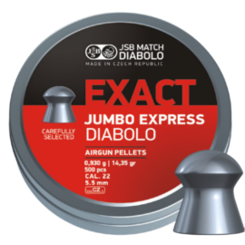 JSB Exact Jumbo Express .22 Air Rifle Pellets