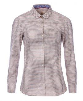 Barbour Ladies Sinderhope Tattersall Shirt - Huckleberry