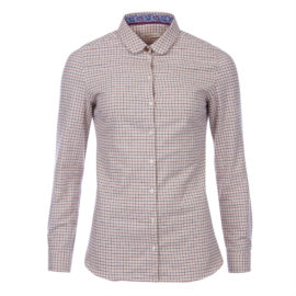 Barbour Ladies Sinderhope Tattersall Shirt - Huckleberry