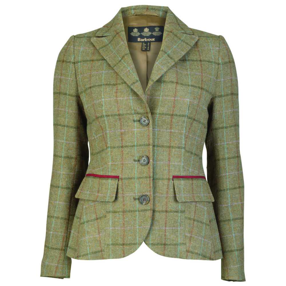Barbour Carter Tailored Tweed Ladies Jacket - Countryway Gunshop