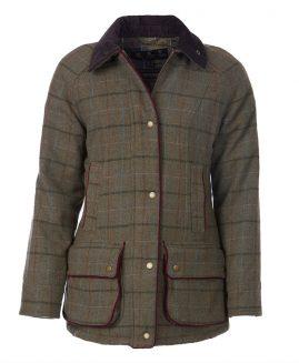 Barbour Carter Wool Tweed Ladies Jacket