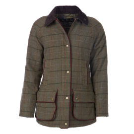 LWO0161OL51 Barbour Carter Tweed Wool Jacket (1)