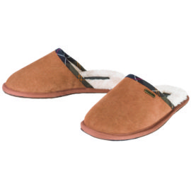 LFO0108BE51 Barbour Leigh Slippers Camel