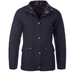 LQU0640NY71 Barbour Tors Quilt Jacket Navy
