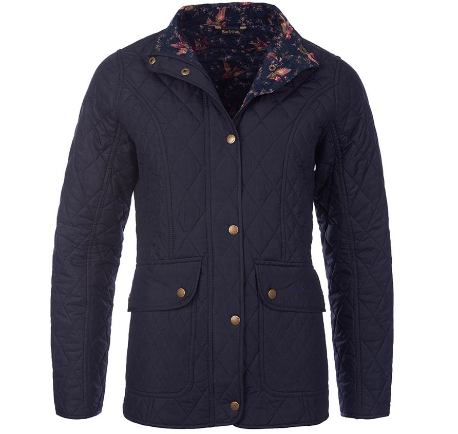 LQU0640NY71 Barbour Tors Quilt Jacket Navy
