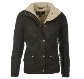 Barbour Brocklane Wax Jacket - Olive