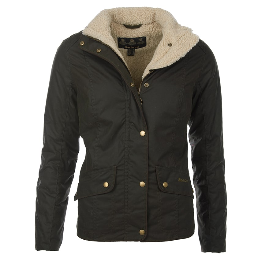 LWX0538OL71 Barbour Brocklane Wax Jacket