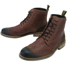 MFO0184TA91 Barbour Belsay Boots Dark Tan (1)