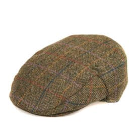 Barbour Moons Tweed Flat Cap