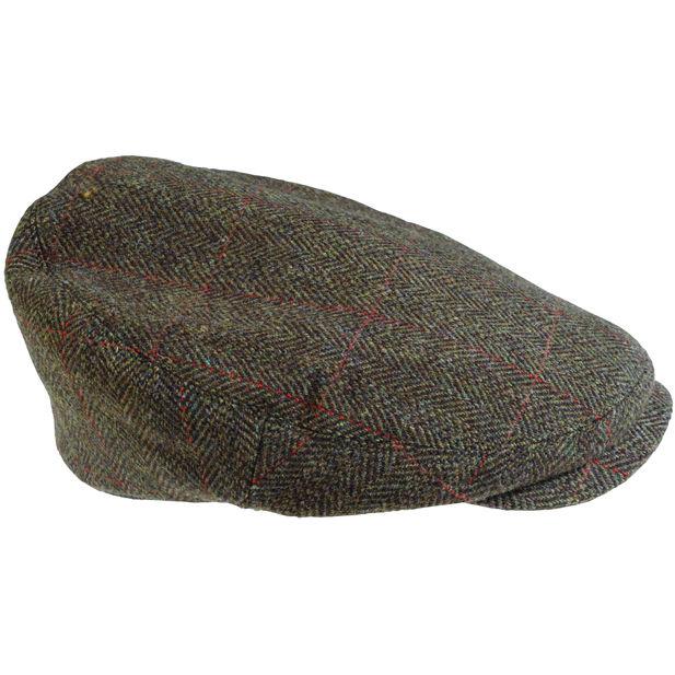 MHA0347 Barbour Gamefair Tweed Cap