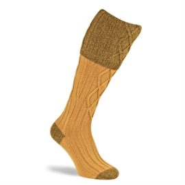 Pennine Melbourne Gold Shooting Socks