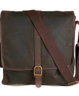 Barbour Wax Leather Mail Bag