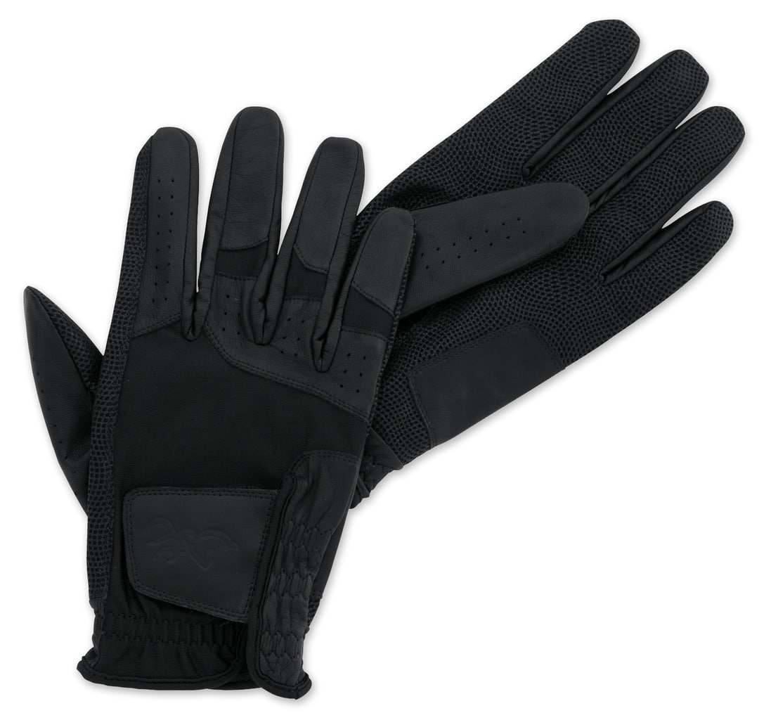 Browning Masters Duralite Leather Gloves Black