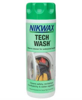 Nikwax Tech Wash Cleaner for Waterproof Clothing 300ml