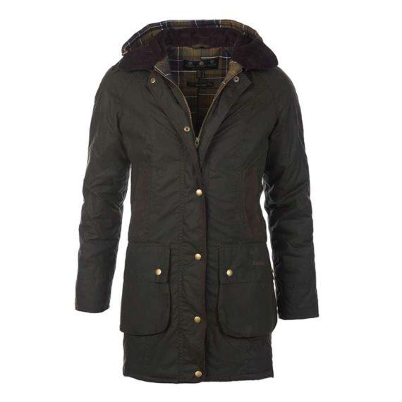 Barbour Bower Ladies Wax Jacket