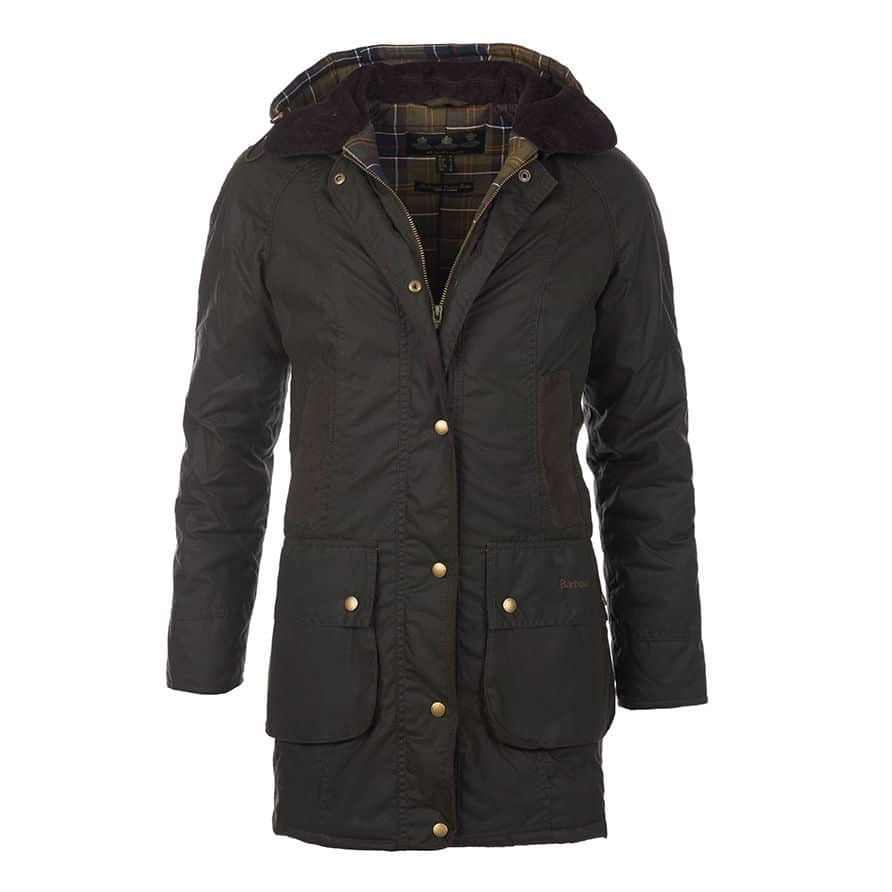 Barbour Bower Belted Wax Jacket Countryway Gunshop