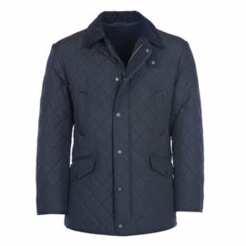 mqu0068ny71 Barbour Bardon Jacket Navy