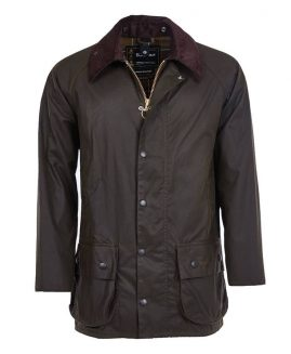 Barbour Classic Beaufort Waxed Jacket - Olive