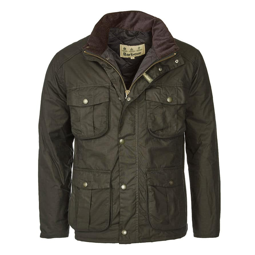 Barbour Jacket : ... Clothing ? ? Menswear ? ? Barbour Wax Winter Utility Jacket