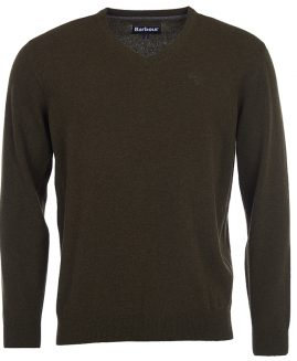 Barbour Essential Lambswool V Neck Jumper