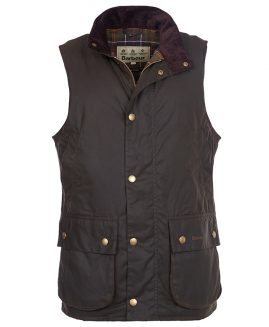 Barbour New Westmorland Wax Waistcoat Gilet