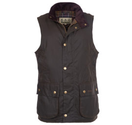 MWX0723OL71 Barbour Westmorland Wax Gilet Olive