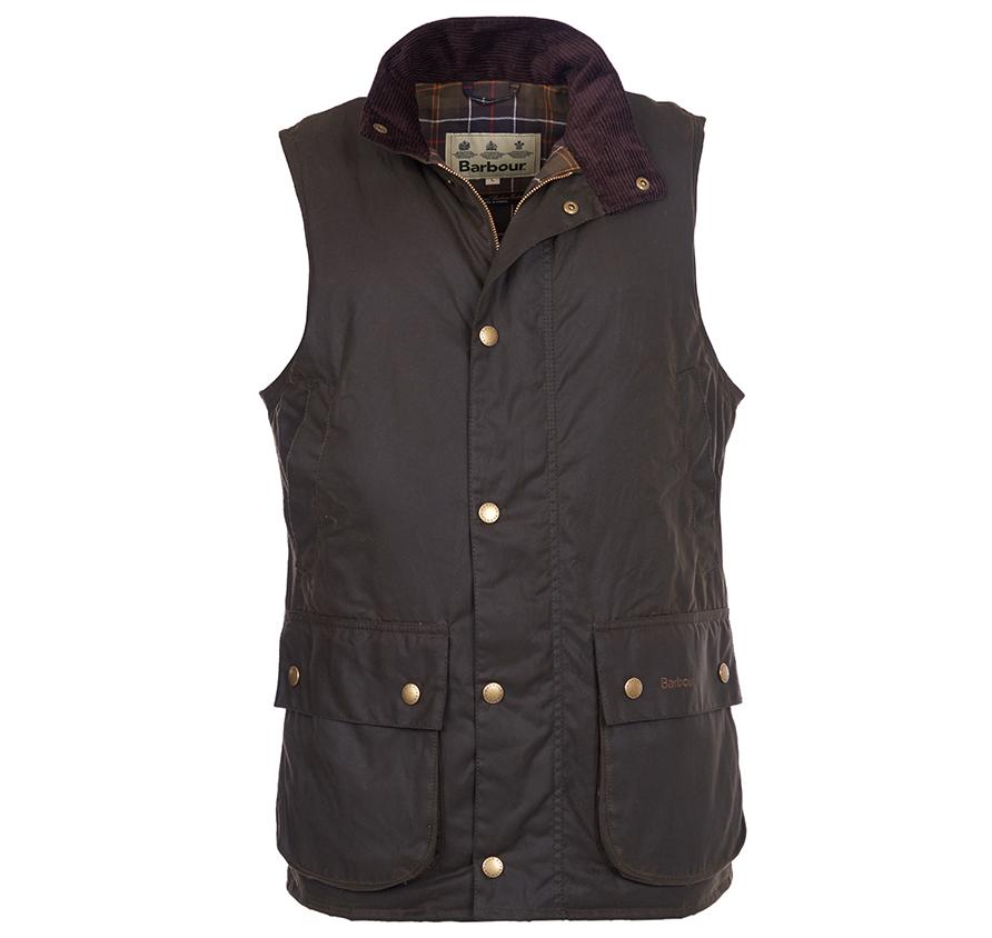 Barbour Westmorland Wax Gilet Waistcoat