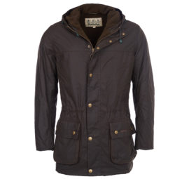 mwx0724ol71 Barbour Winter Durham Wax Jacket Olive