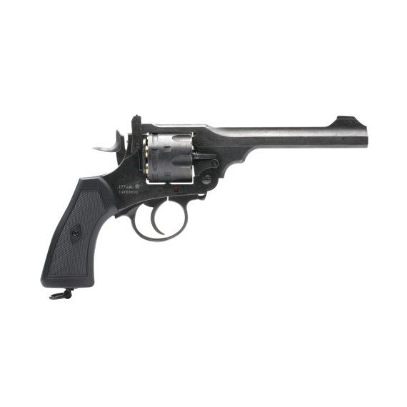 Webley MKVI Service Revolver Pistol Battlefield Finish (1)