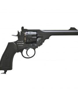 Webley MKV1 Service Revolver CO2 .177 Pellet - Black