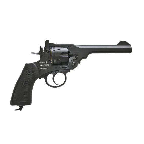 Webley MKVI Service Revolver Pistol Black (1)