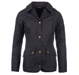 LQU0694NY71 Barbour Ladies Herterton Quilt Navy