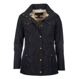 LWB0371NY71 Barbour Kalzie Jacket Navy