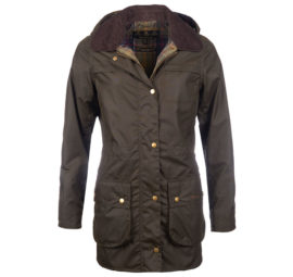 LWX0592OL71 Barbour Herterton Wax Jacket