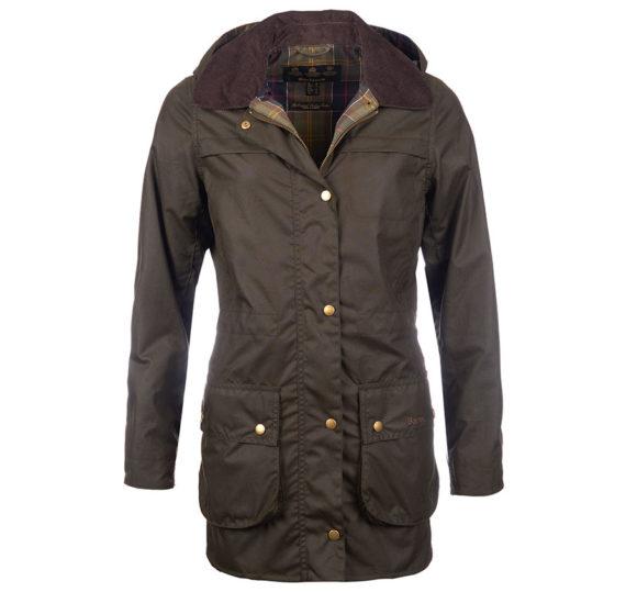 Barbour Ladies Herterton Wax Jacket