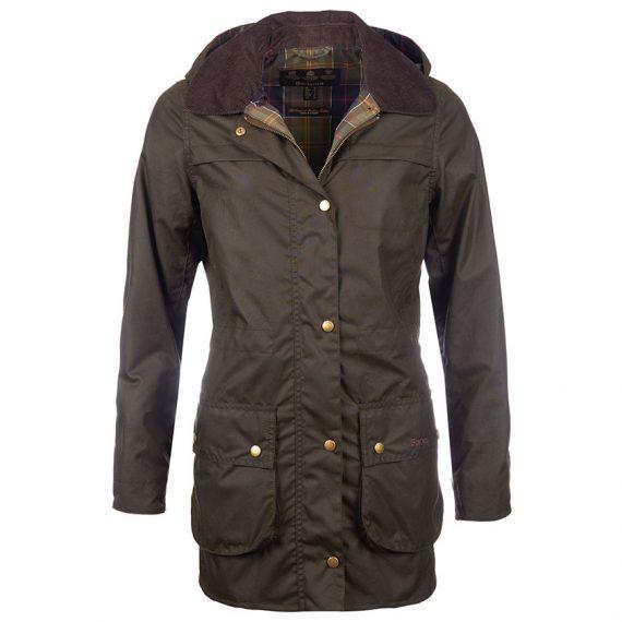 LWX0592OL71 Barbour Herterton Wax Jacket