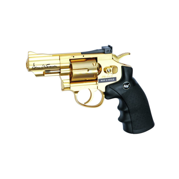 Dan Wesson Gold 177 bb Co2 Revolver