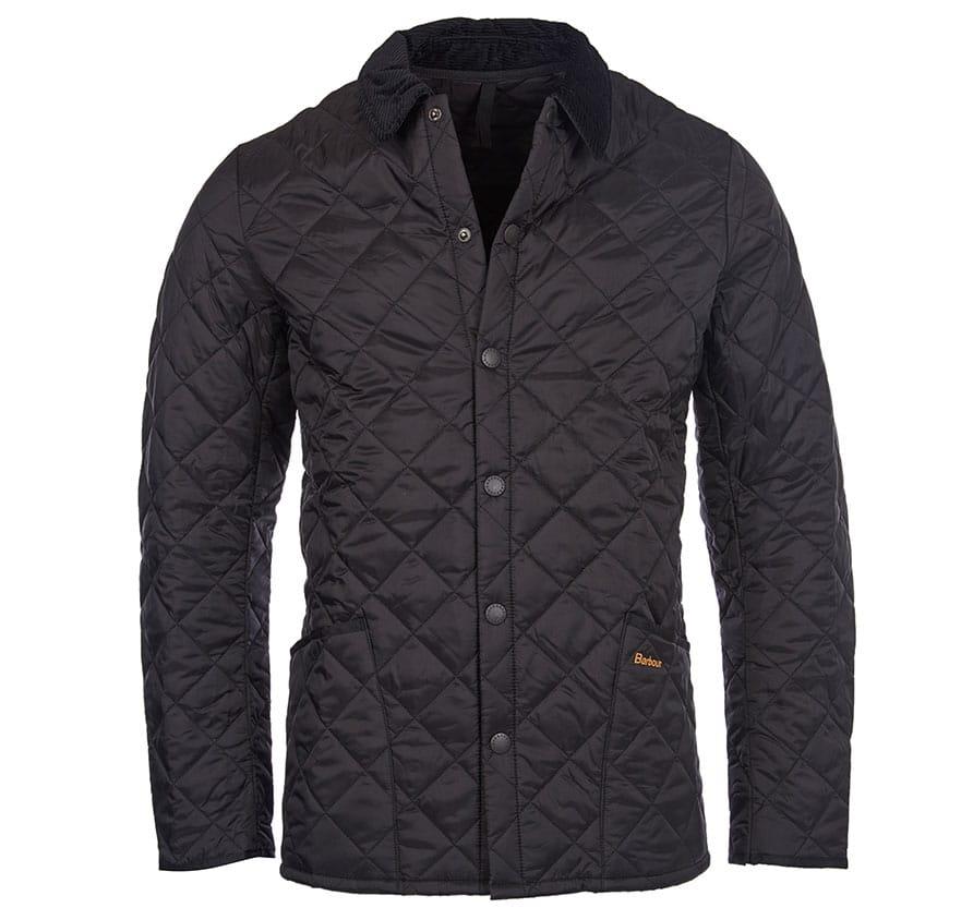 MQU0240BK11 Barbour Heritage Liddesdale Quilt Black (1)