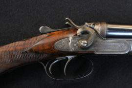 Williams Evans 28 Bore Side by Side Hammer Gun