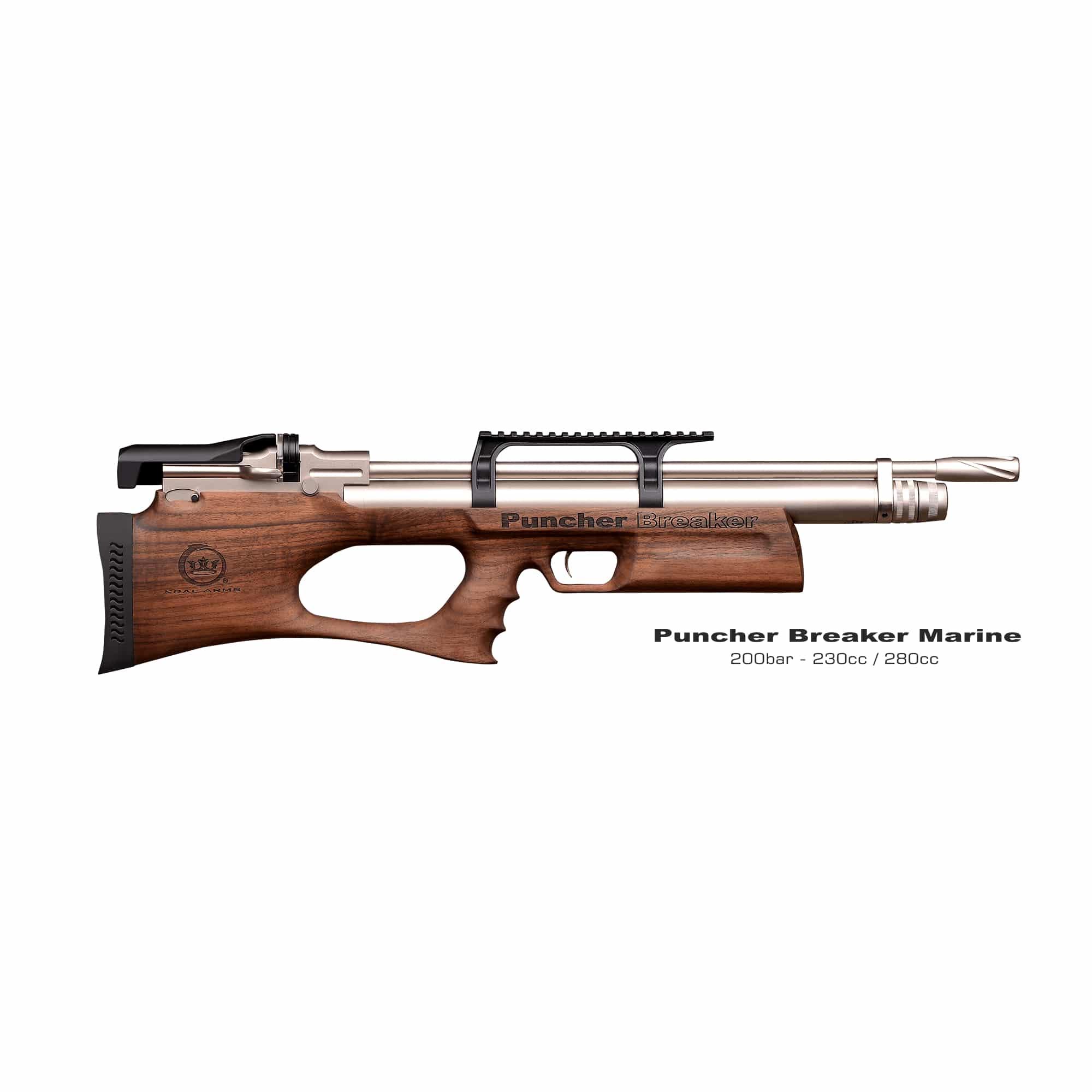 Kral Puncher Breaker Marine Bullpup .177 or .22 PCP Air Rifle