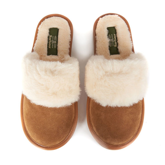 LFO0202BE31 Barbour Victoria Mule Slippers (1)