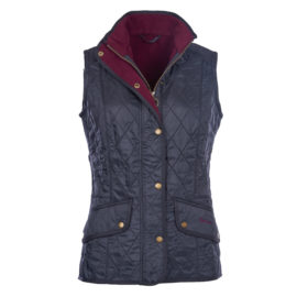 LQU0458NY71 Barbour Cavalry Gilet Navy